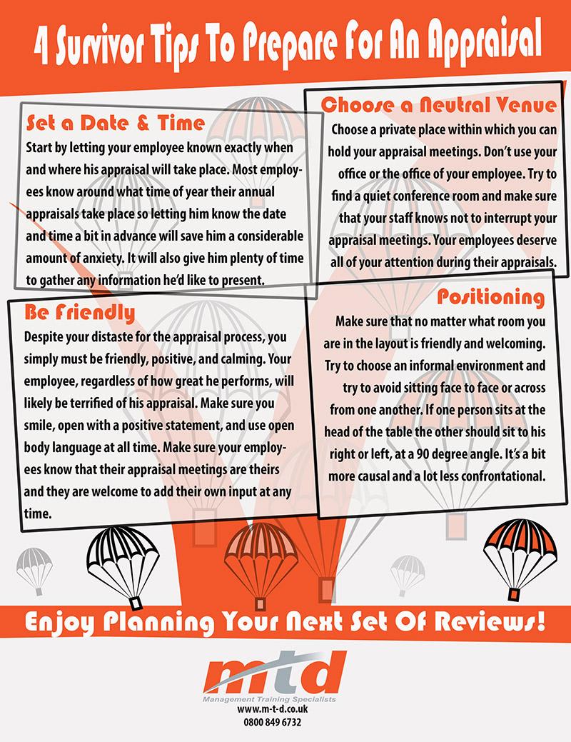 4 Survivor Tips On Planning An Appraisal