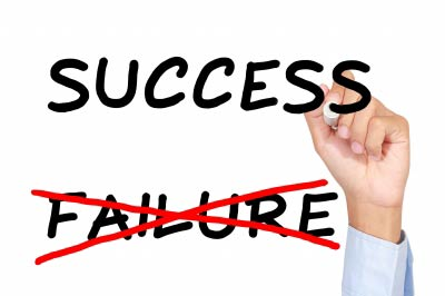 success to failure