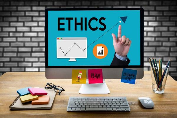Business computer with Ethics