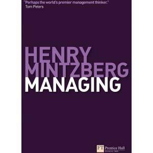Henry Mintzberg book cover
