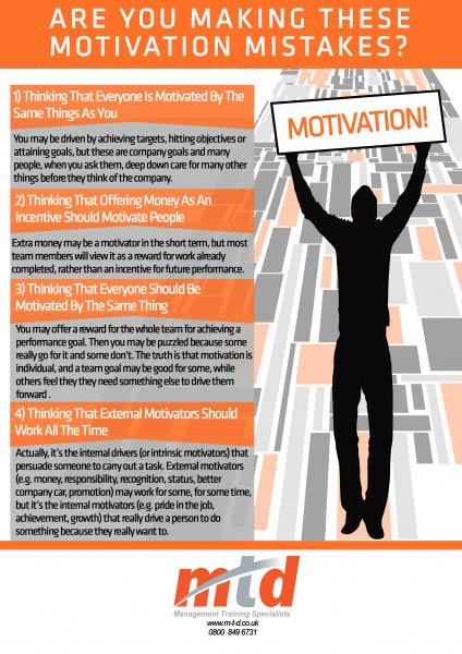 MTD Training - Are You Making These Motivation Mistakes
