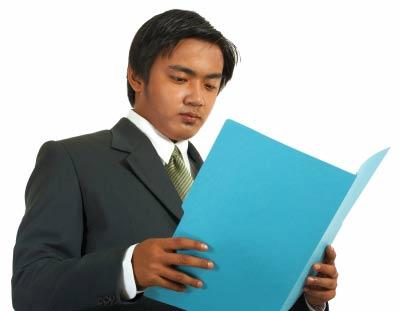 china man reading book