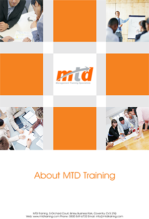 download our online brochure mtd training