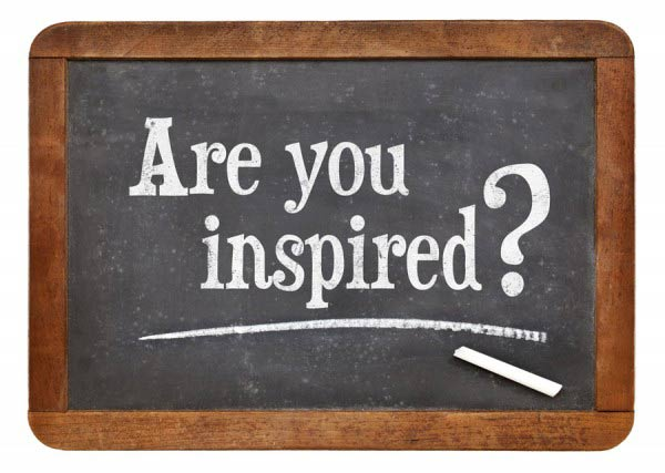 Are you inspired?