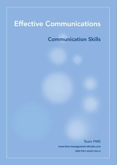 Effective Comminication skills cover