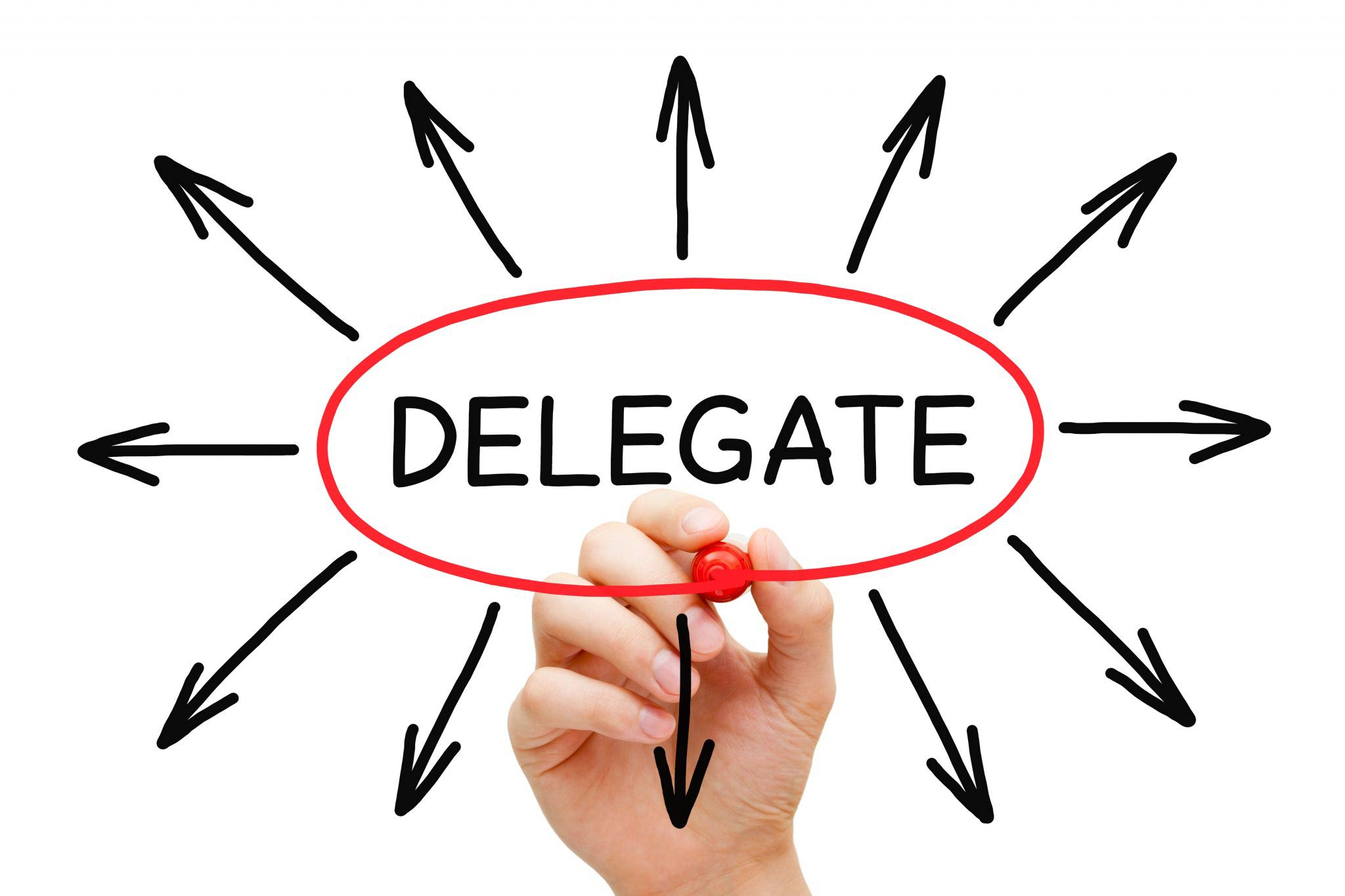 how to develop delegation skills