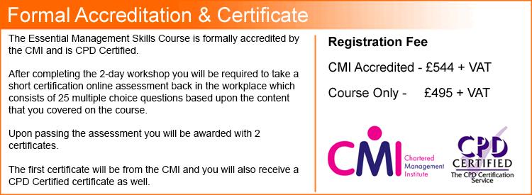Formal certificate