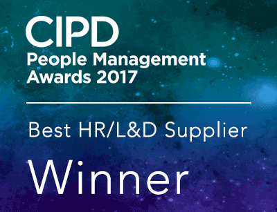 CIPD award winning badge