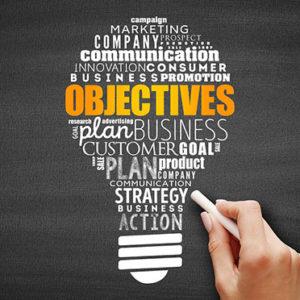 set objectives