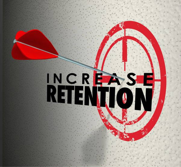 Increase Retention and arrow