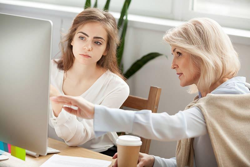 Senior manager mentoring