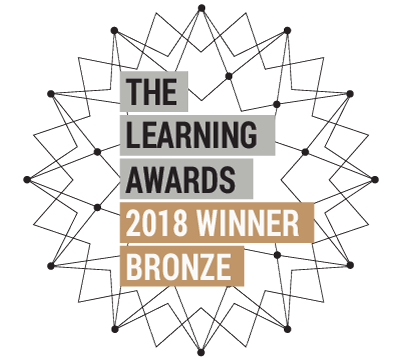 2018 Learning Awards Bronze