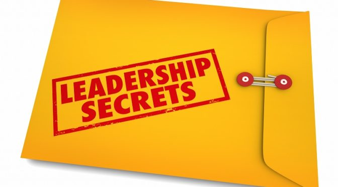 Leadership secrets envelope