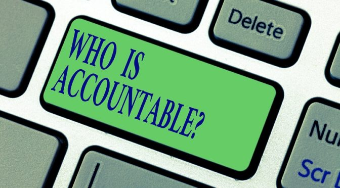 Who is accountable keypad