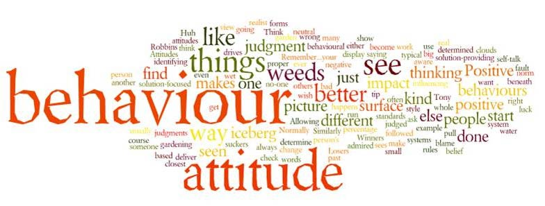 Attitude and Behaviour
